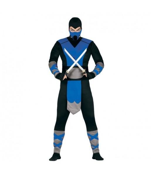 Disfarce Ninja do Gelo adulto divertidíssimo para qualquer ocasião
