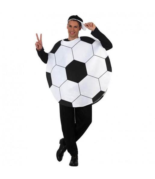 Disfarce Bola de futebol adulto divertidíssimo para qualquer ocasião
