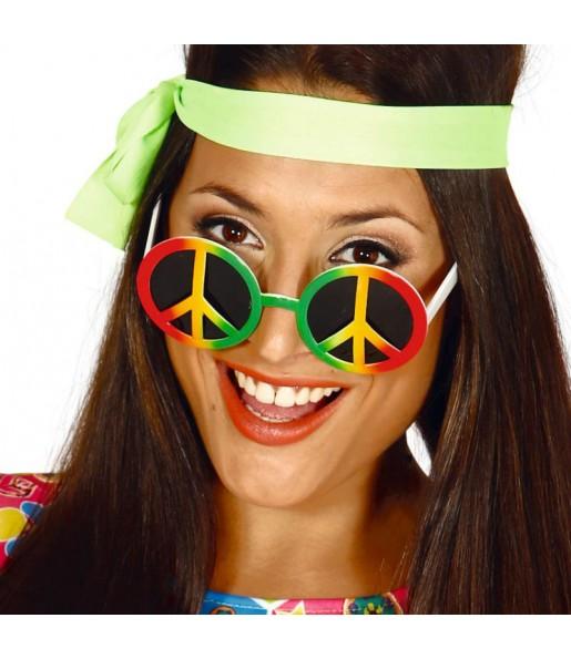 Os óculos mais engraçados hippie para festas de fantasia