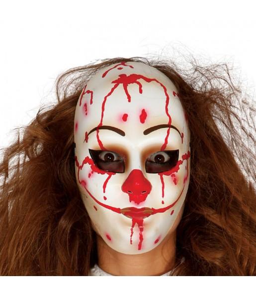 Máscara palhaço homicida para completar o seu fato Halloween e Carnaval
