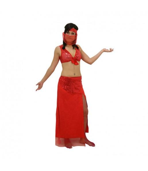 Disfarce original Dançarina Árabe mulher ao melhor preço