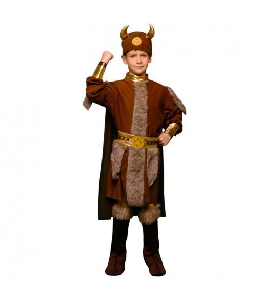 Disfarce Viking menino para deixar voar a sua imaginação