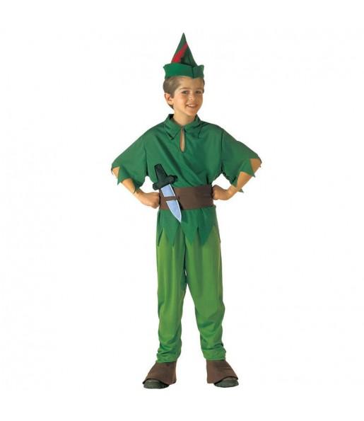 Disfarce Peter Pan menino para deixar voar a sua imagina??o