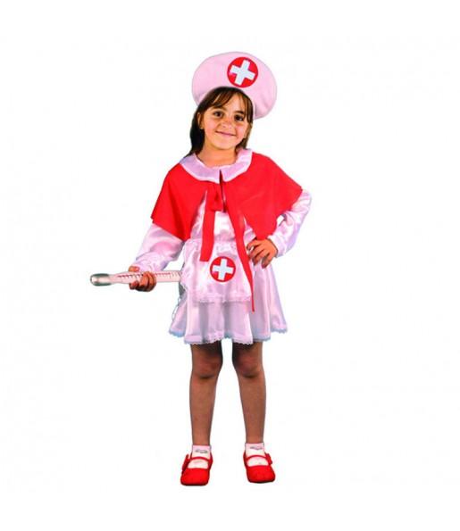 Disfarce Enfermeira menina para que eles sejam com quem sempre sonharam