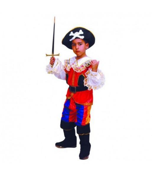 Disfarce Pirata Hook menino para deixar voar a sua imaginação