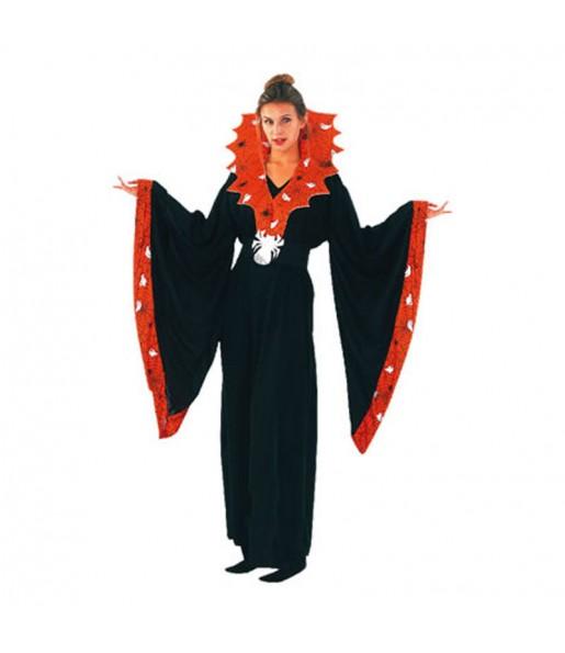 Fato de Spiderella mulher para a noite de Halloween