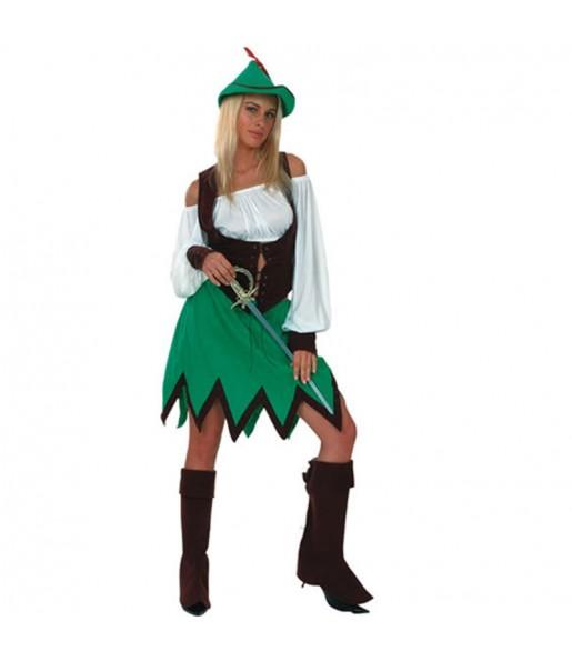 Disfarce original Robin dos Bosques mulher ao melhor preço