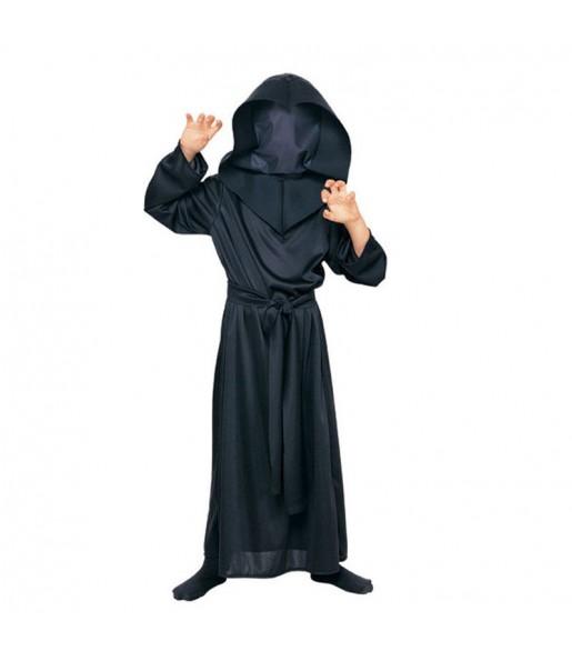 Disfarce Halloween Homem sem rosto para meninos para uma festa do terror