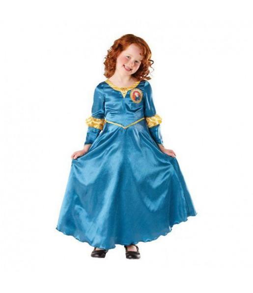 Disfarce Merida Brave Disney menina para que eles sejam com quem sempre sonharam