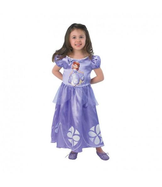 Disfarce Princesa Sofia Era uma vez menina para que eles sejam com quem sempre sonharam