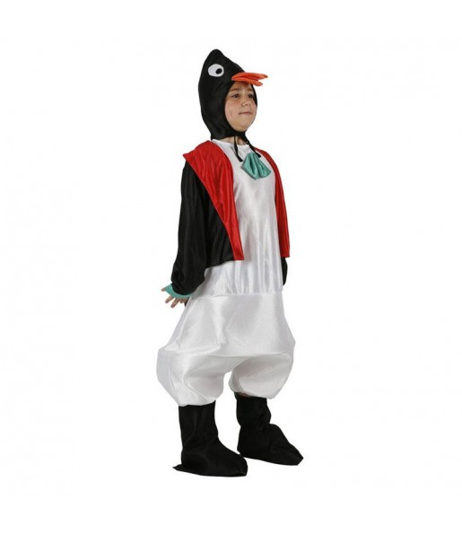 Disfarce Pinguim menino para deixar voar a sua imaginação