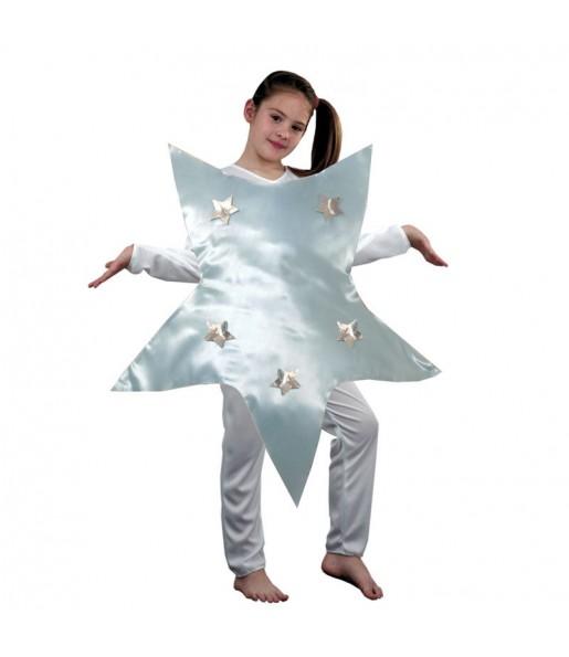 Disfarce Estrela de Natal menina para que eles sejam com quem sempre sonharam