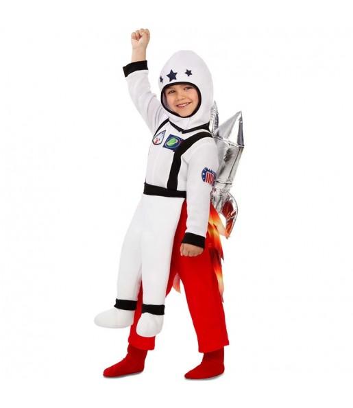 Disfarce Ride On Astronauta em foguete meninos para deixar voar a sua imaginação