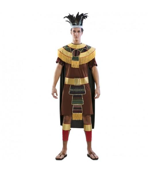 Disfarce Asteca adulto divertidíssimo para qualquer ocasião
