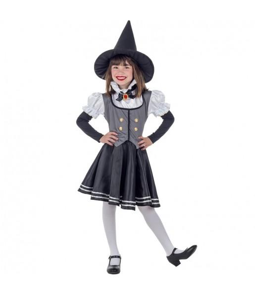 Disfarce Halloween Bruxa Mística meninas para uma festa Halloween
