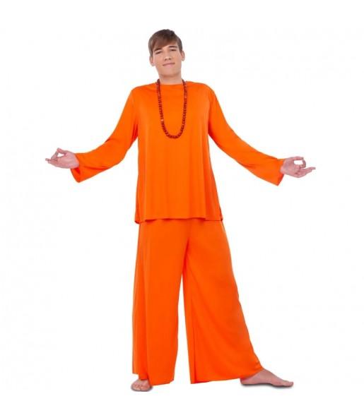 Disfarce Budista Hare Krishna adulto divertidíssimo para qualquer ocasião