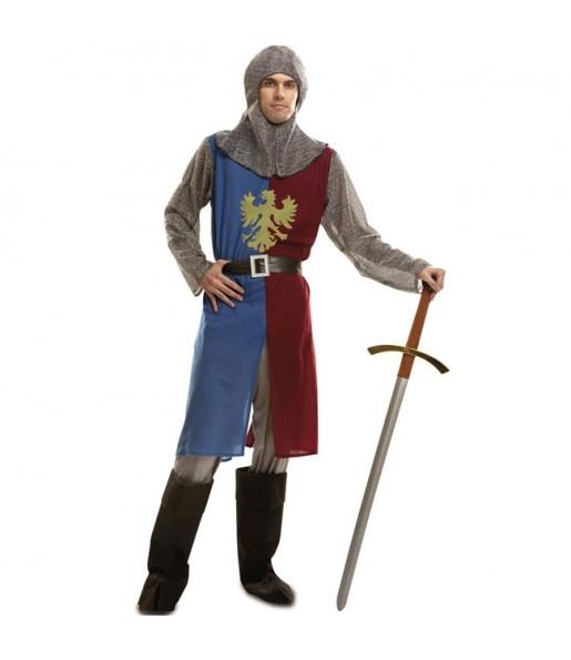 Disfarce Cavaleiro medieval adulto divertidíssimo para qualquer ocasião