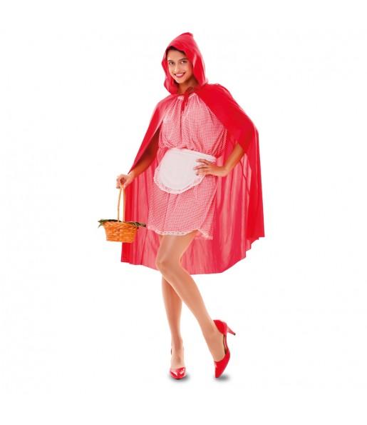 Disfarce original Capuchinho Vermelho mulher ao melhor preço