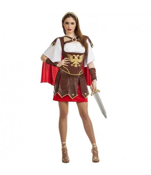 Fato de Centurião Romano Águia para mulher