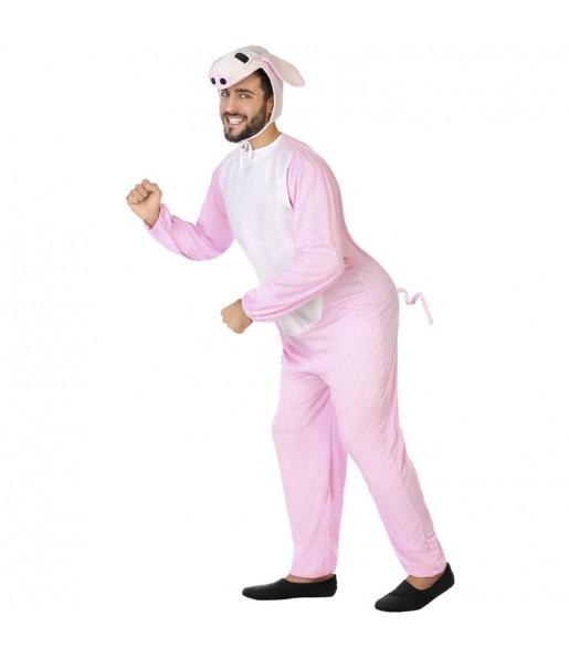 Fato de Porco para homem