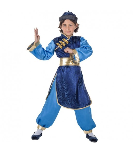 Disfarce Chinês Elegante menino para deixar voar a sua imaginação