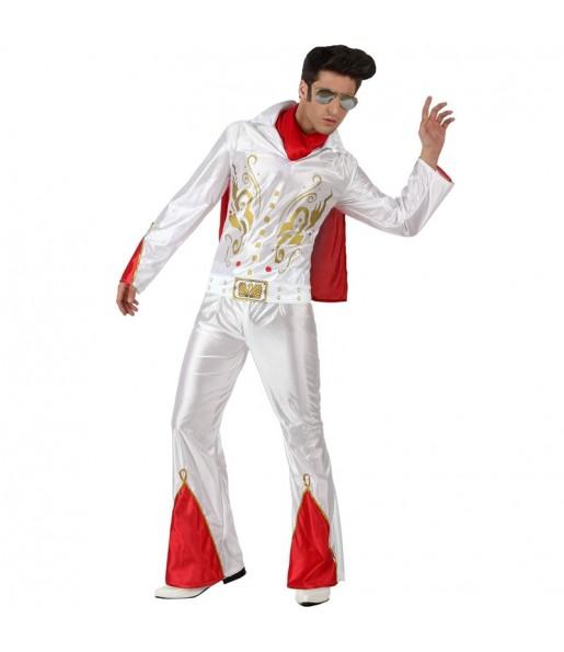 Fato de Elvis rei do rock para homem