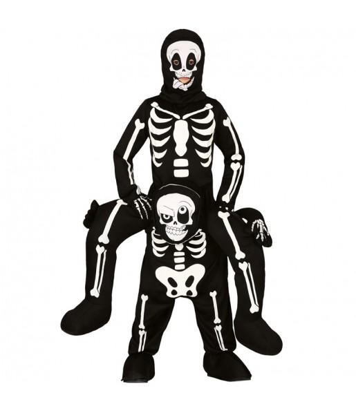 Disfarce Ride On Esqueleto meninos para deixar voar a sua imaginação