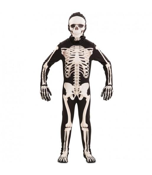 Fato de Esqueleto deluxe para menino