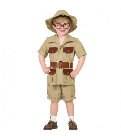 Disfarce Explorador menino para deixar voar a sua imaginação