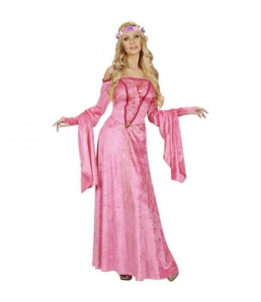 Disfarce original Fada Medieval mulher ao melhor preço