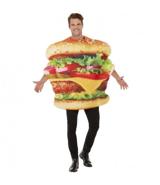 Fato de Hambúrguer para adulto