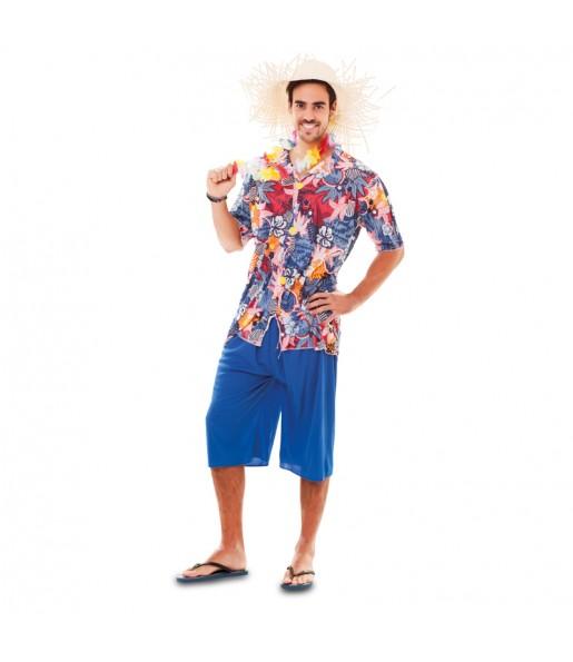 Disfarce Havaiano adulto divertidíssimo para qualquer ocasião