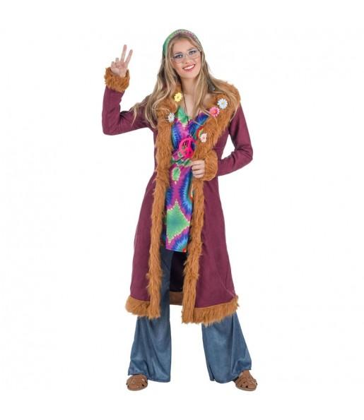Disfarce original Hippie Deluxe mulher ao melhor preço