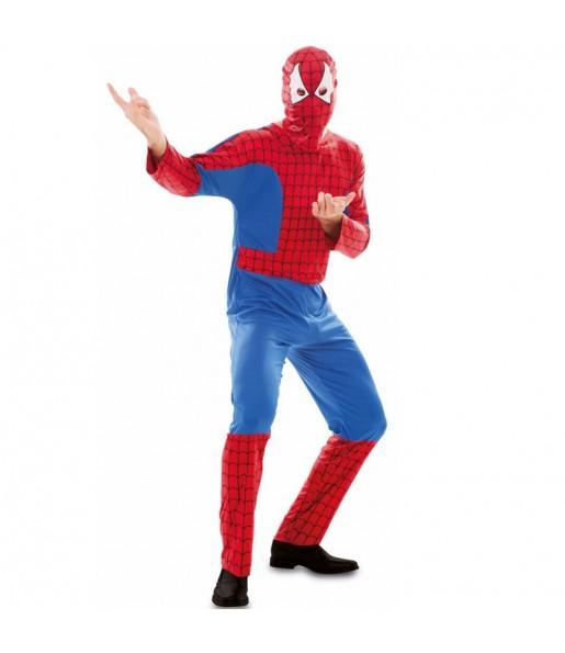 Disfarce Spiderman adulto divertidíssimo para qualquer ocasião
