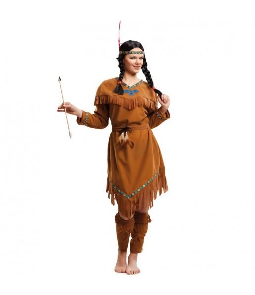 Disfarce original India Americana mulher ao melhor preço