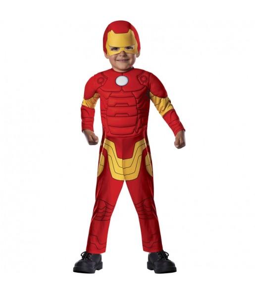 Disfarce Iron Man Marvel beb? para deixar voar a sua imagina??o
