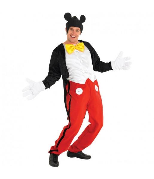 Disfarce Mickey Rato adulto divertidíssimo para qualquer ocasião