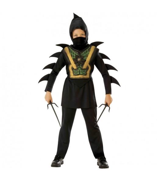Fato de Mortal Ninja para menino