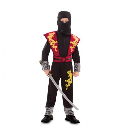Disfarce Dragão Ninja menino para deixar voar a sua imaginação
