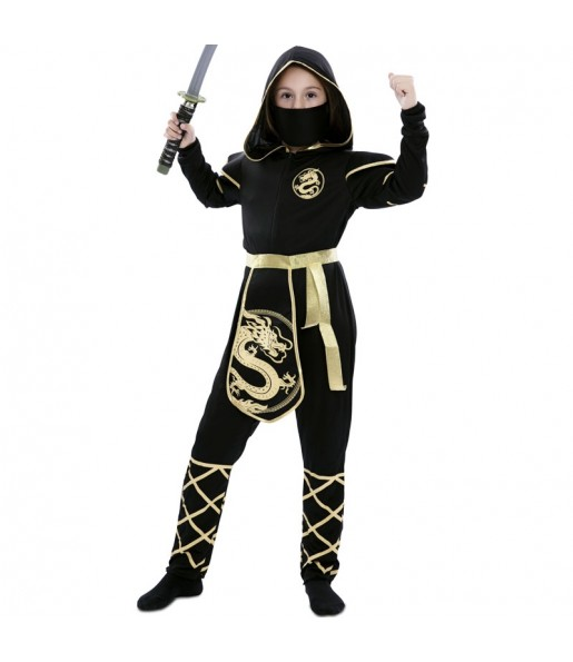 Fato de Ninja Warrior para menina