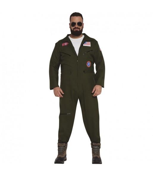 Disfarce Piloto de combate adulto divertidíssimo para qualquer ocasião