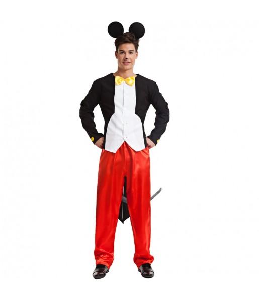 Disfarce Rato Mickey adulto divertidíssimo para qualquer ocasião