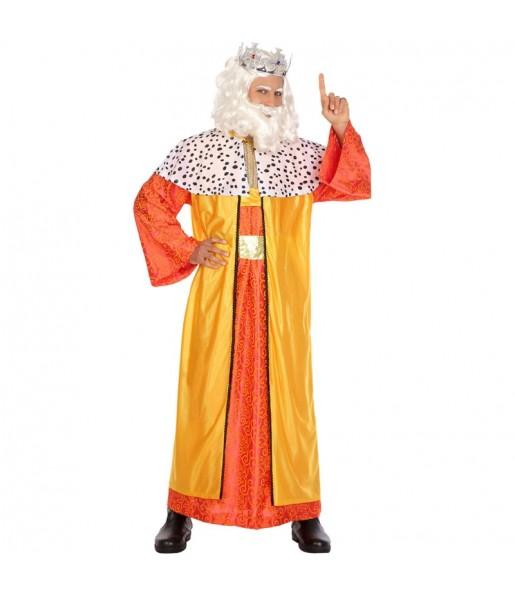 Disfarce Rei Mago Melchior adulto divertidíssimo para qualquer ocasião