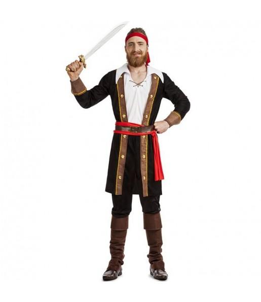 Fato de Rei Pirata para homem