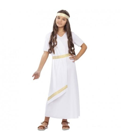 Disfarce Romana branca menina para que eles sejam com quem sempre sonharam