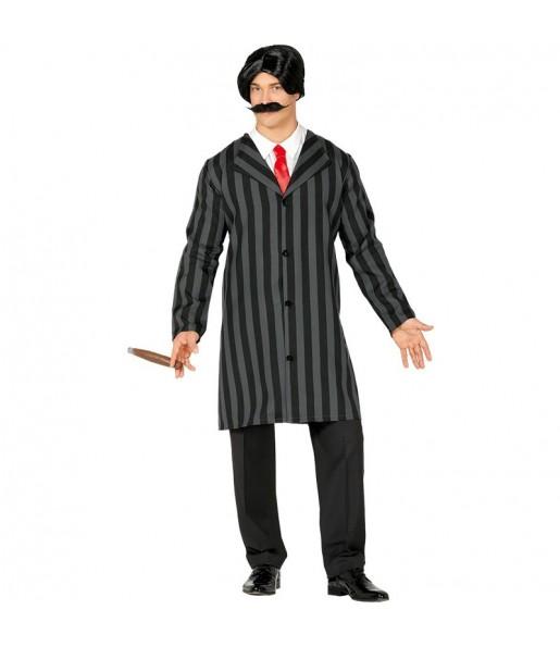 Fato de Gomez Addams adulto para a noite de Halloween