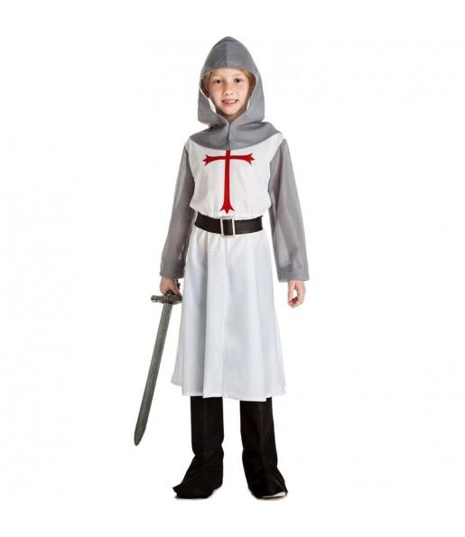 Disfarce Soldado Medieval menino para deixar voar a sua imaginação