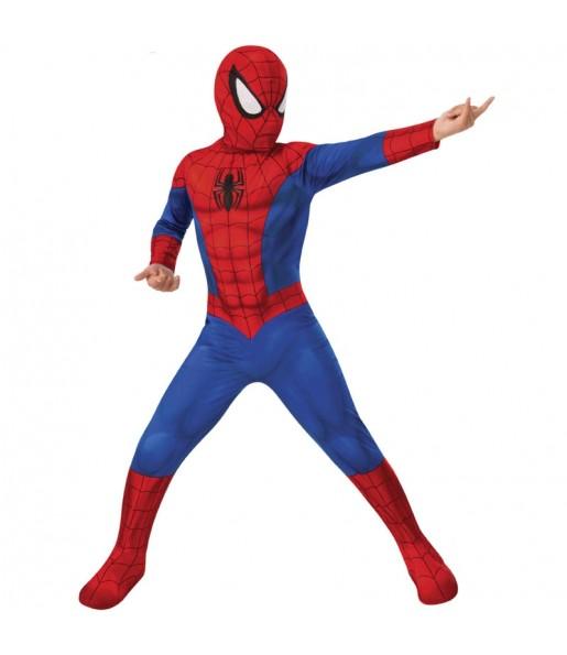 Fato de Spiderman classic para menino