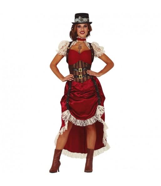 Disfarce original Steampunk vintage mulher ao melhor preço
