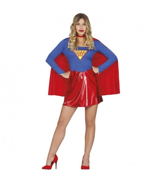 Disfarce original Supergirl mulher ao melhor preço